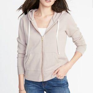 Old Navy Soft Pink Blush Zip Front Hoodie